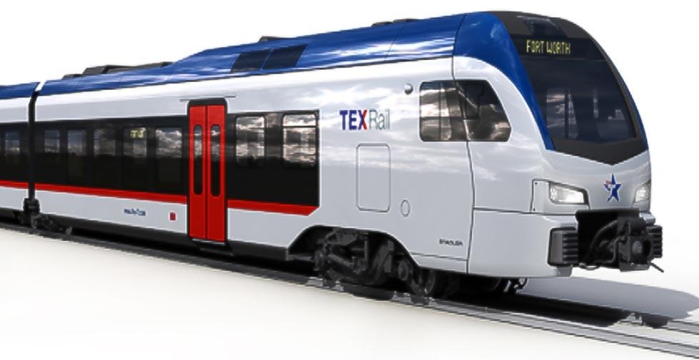 DMU Flirt 3 For Texrail, Stadler