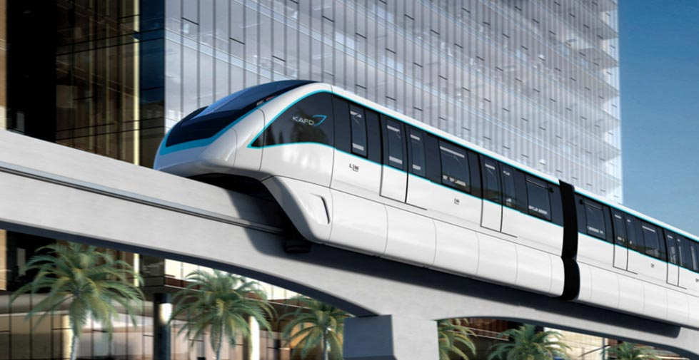 Innovia Monorail 300, Bombardier